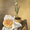 A Bread with a Flower 1